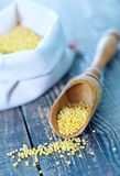 Raw millet Royalty Free Stock Photo