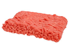 Raw minced beef Royalty Free Stock Photos
