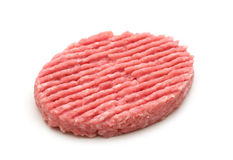 Raw minced beef steak Stock Photos