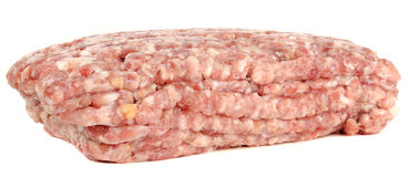Raw Minced (Ground) Meat Royalty Free Stock Image