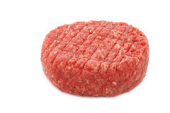 Raw minced meat for making hamburgers Stock Images