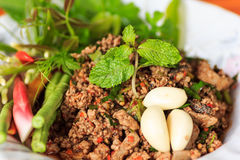 Raw minced meat Royalty Free Stock Photos
