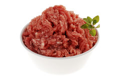 Raw minced pork Royalty Free Stock Image