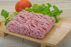 Raw minced pork meat Royalty Free Stock Photography