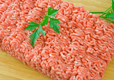 Raw Minced Steak Royalty Free Stock Photography