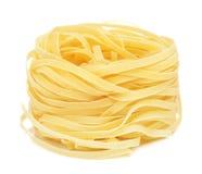 Raw Nest Pasta Stock Images