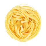 Raw Nest Pasta Royalty Free Stock Photo