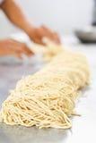 Raw noodle Stock Photos