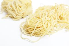 Raw noodle Royalty Free Stock Photos