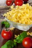 Raw Noodles Stock Photos