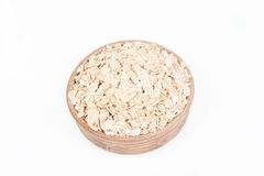 Raw oat in a dish Stock Photos