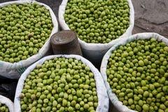 Raw olives Stock Photos