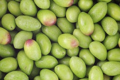 Raw Olives. For use as a background Stock Photography