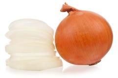 Raw onion Stock Photo