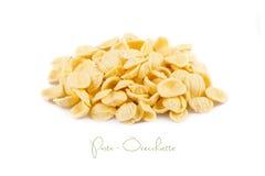 Raw Orecchiette Pasta Stock Image