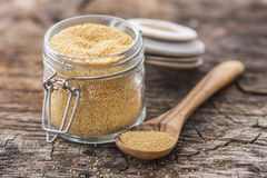 Raw Organic Amaranth Grain Royalty Free Stock Photography