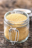 Raw Organic Amaranth Grain Royalty Free Stock Images