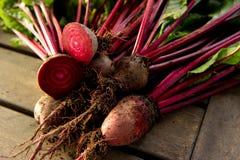Raw Organic Beets Royalty Free Stock Image