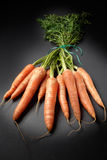 Raw organic carrots Stock Photos