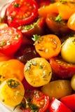 Raw Organic Cherry Tomato Salad Stock Photo