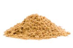 Raw Organic Coriander Spice Powder Stock Photos