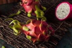 Raw Organic Dragon Fruit Royalty Free Stock Images