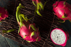 Raw Organic Dragon Fruit Stock Image