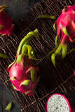 Raw Organic Dragon Fruit Stock Photography