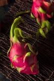 Raw Organic Dragon Fruit Royalty Free Stock Photos