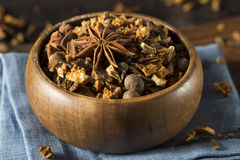 Raw Organic Dry Mulling Spices Royalty Free Stock Images
