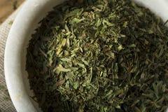 Raw Organic Dry Tarragon Spice Stock Photography