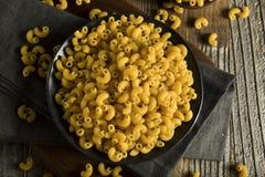 Raw Organic Elbow Macaroni Royalty Free Stock Image