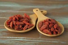 Raw organic Goji Berries Royalty Free Stock Images