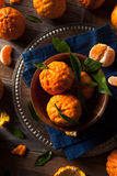 Raw Organic Gold Nugget Mandarin Oranges. Ready to Eat Stock Photo