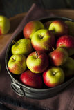 Raw Organic Lady Apples. For the Holidays Royalty Free Stock Photos