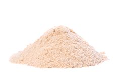 Raw Organic Lucuma Powder. Lucuma fruit, pouteria obovatahas, are superfood traditionally known as Gold of the Incas. This low-glycemic sweetener contains Royalty Free Stock Photography