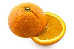 Raw organic oranges Stock Photos
