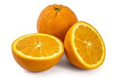 Raw organic oranges Royalty Free Stock Photography