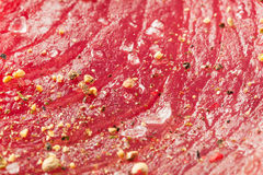 Raw Organic Pink Tuna Steak Royalty Free Stock Image