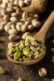 Raw Organic Pistachio Nuts Royalty Free Stock Image