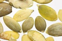Raw Organic Pumpkin Seeds Macro Stock Photography