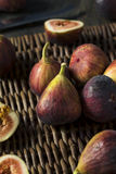 Raw Organic Purple Figs. Ready to Eat Stock Photo