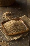 Raw Organic Sesame Seeds Stock Image