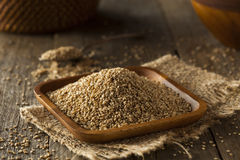Raw Organic Sesame Seeds Stock Photography