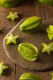 Raw Organic Star Fruit Royalty Free Stock Images