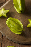 Raw Organic Star Fruit Stock Image