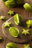Raw Organic Star Fruit Stock Photography