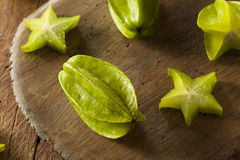 Raw Organic Star Fruit Stock Images