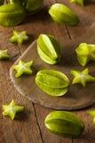 Raw Organic Star Fruit Stock Photos