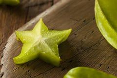 Raw Organic Star Fruit Royalty Free Stock Photos